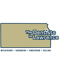 The Dentists in Lawrence logo