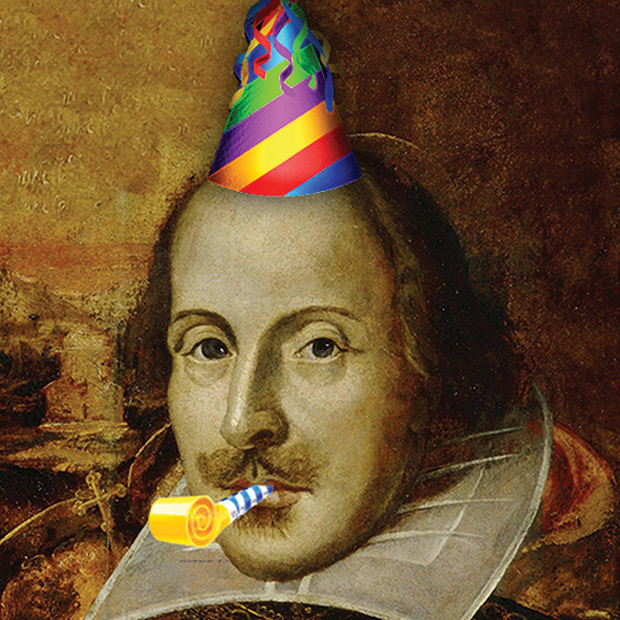 Image result for shakespeare's 400th birthday