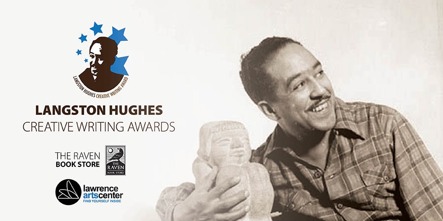 Langston Hughes award graphic,