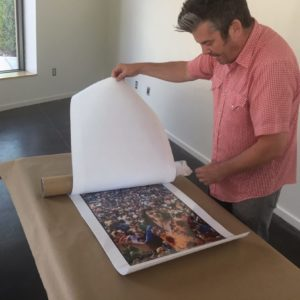 Ben Ahlvers unveiling Woodstock photo